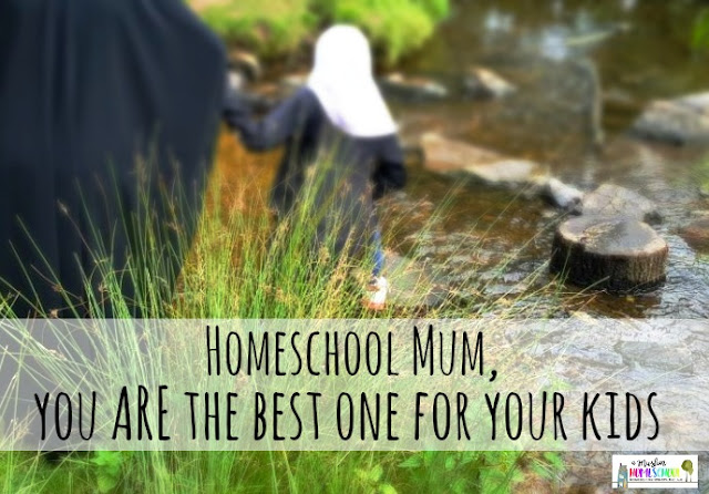 Homeschool Mum, you are the best one for your kids
