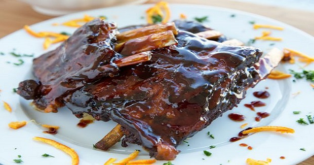 Tangerine Sticky Ribs Recipe