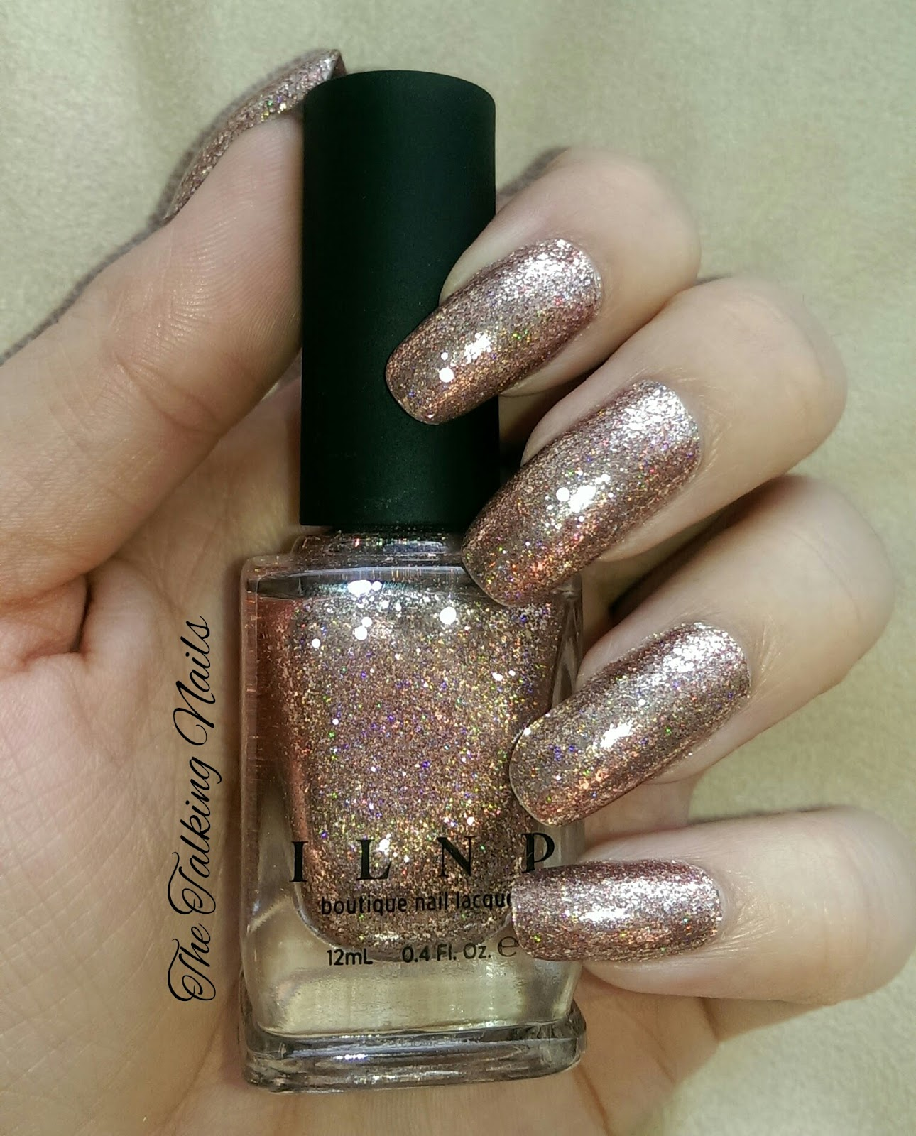 The Talking Nails: ILNP \'Juliette\' Swatch and Review