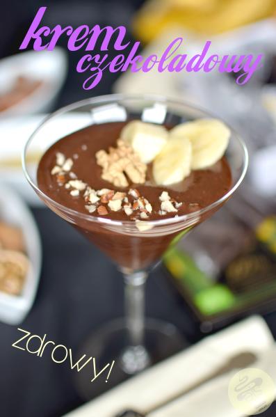 krem czekoladowo- orzechowy
