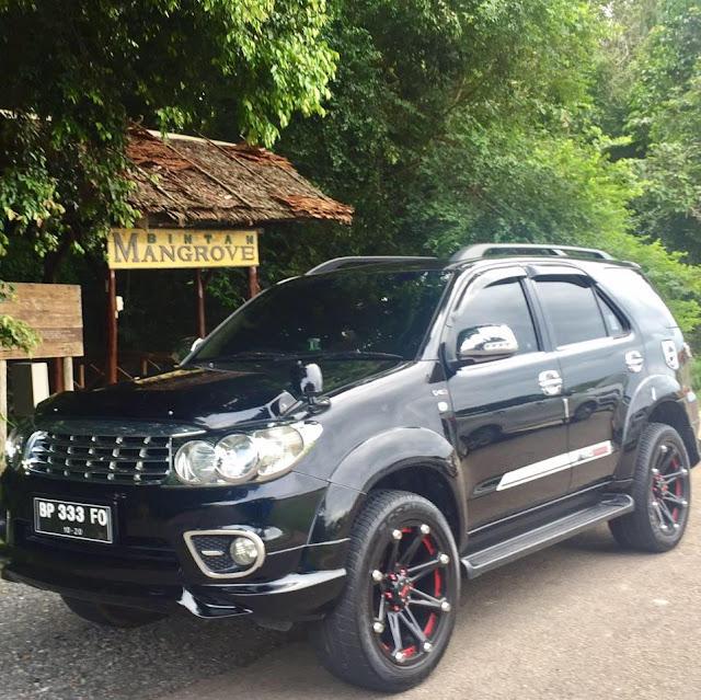 Rental Toyota Fortuner Tanjung Pinang