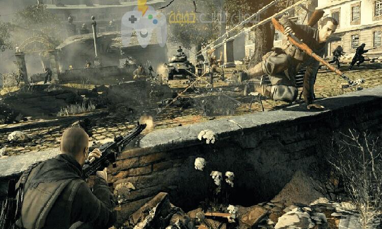 تحميل لعبة سنايبر Sniper Elite V2 برابط مباشر