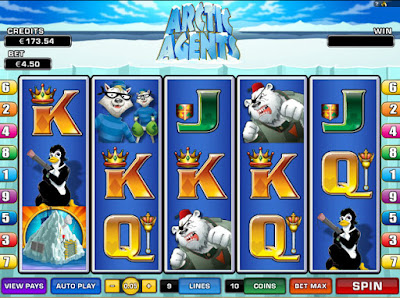 play arctic agents free video slot