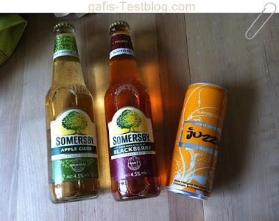 SOMERSBY - Apple Cider & Blackberry und Juzzy Power Lemonade