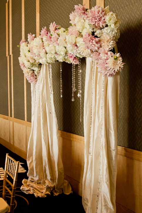 Flora Nova Design  The Blog A Four Seasons Hotel Wedding in Blush and Cream
