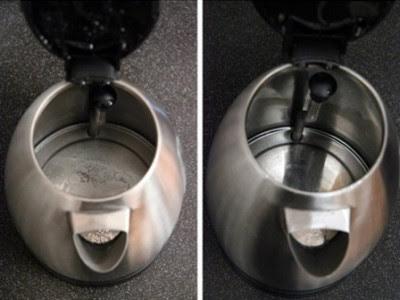 çaydanlık nasıl temizlenir