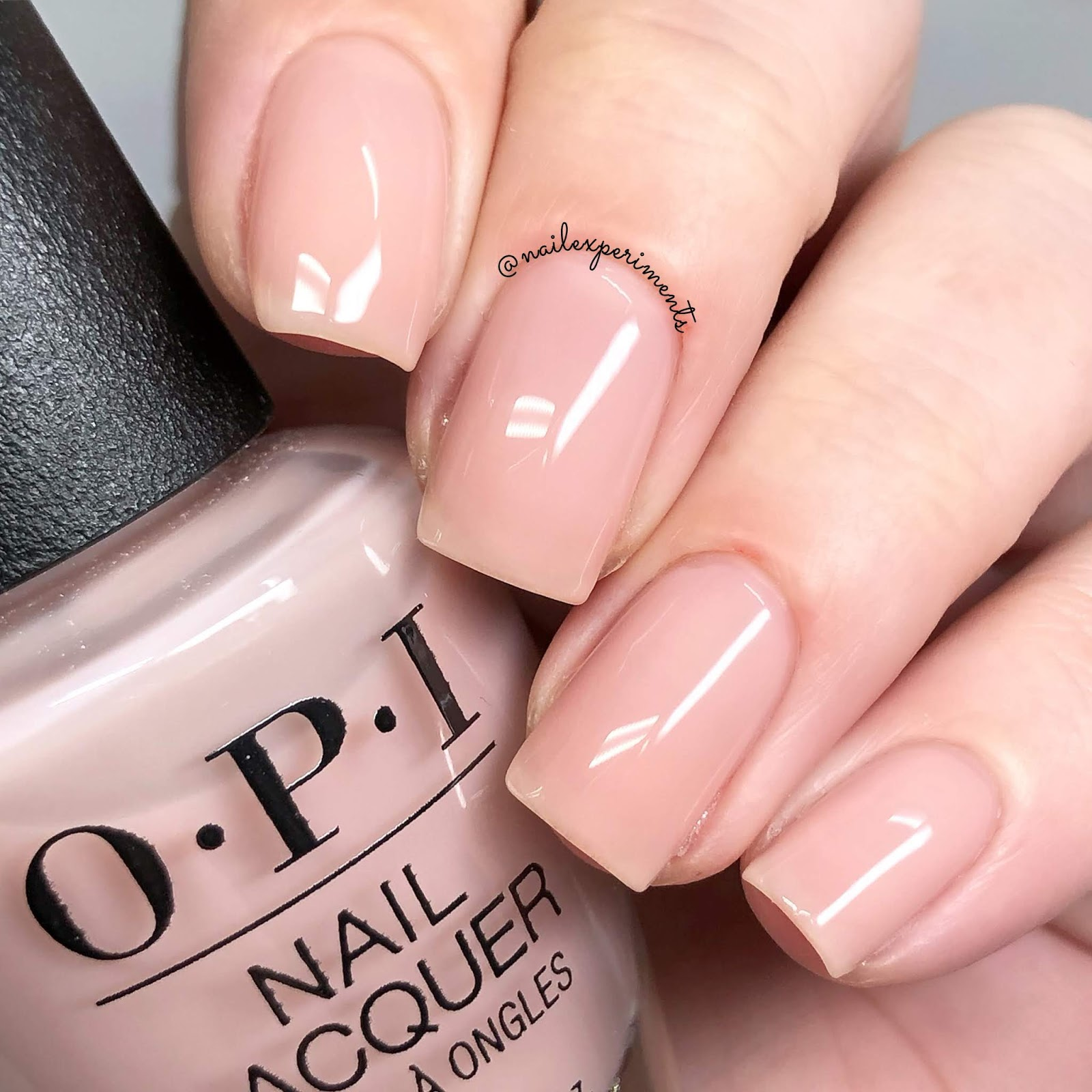 Nail Experiments Opi Always Bare For You Spring 2019