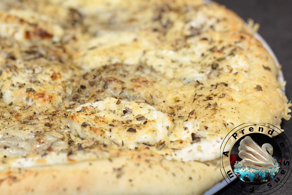 Pizzas aux 3 fromages