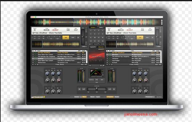 UltraMixer DJ software for mobile and wedding DJs.