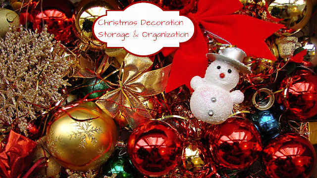 Christmas Decoration Storage & Organization