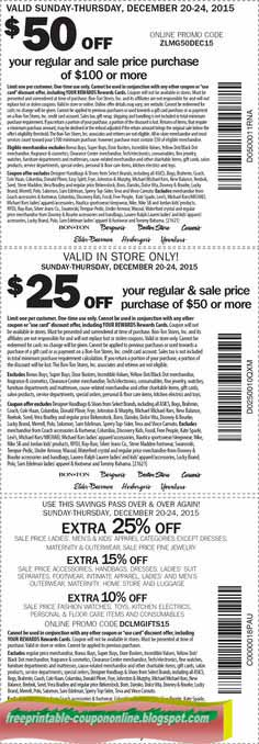photo about Carson Pirie Scott Printable Coupons known as Printable Discount codes 2019: Carson Pirie Scott Discount codes