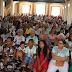 Missa solene da festa da padroeira de Baixa Grande é realizada com igreja lotada
