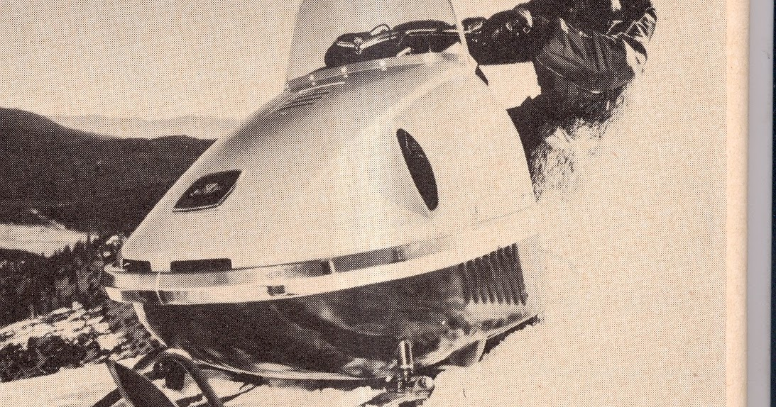 CLASSIC SNOWMOBILES OF THE PAST: 1969 - MISS NEVADA AND ...