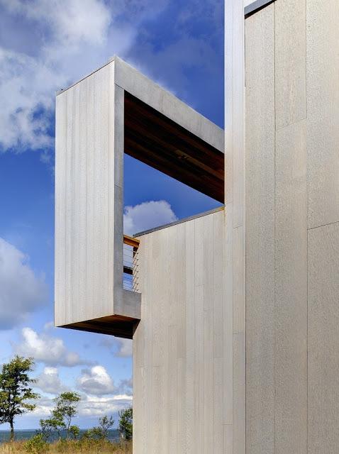 Hogares frescos casa de vacaciones con vistas - Lions head residence bates masi architects ...
