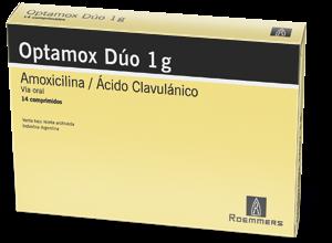 Amoxicilina con Ácido Clavulánico