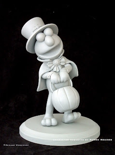 "pierre rouzier_Sesame Workshop - ""haloween elmo"" maquette"