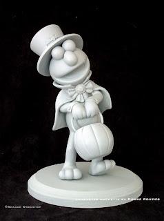 """pierre rouzier_Sesame Workshop - """"haloween elmo"""" maquette"""