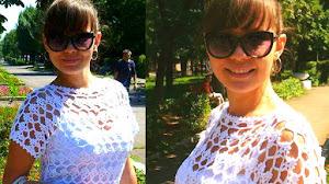 Cómo Tejer Vestido de Encaje a Crochet / Paso a paso