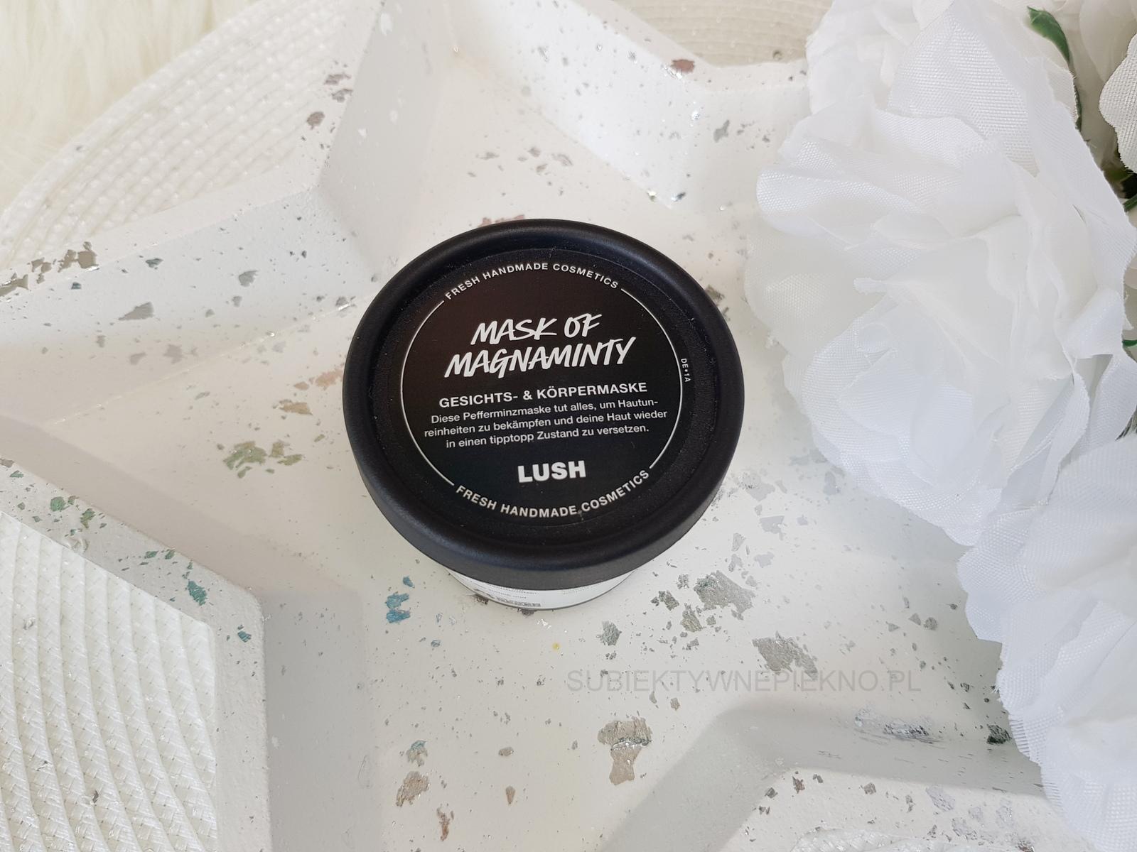 Recenzja Lush Mask of Magnaminty - Miętowa maseczka do twarzy