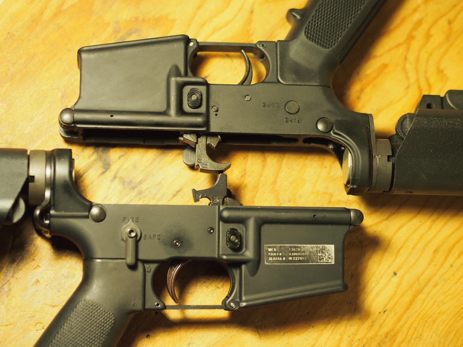 Mister Donut's Firearms Blog: Colt LE6920 lower