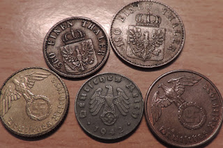 nazi era coinage swastika