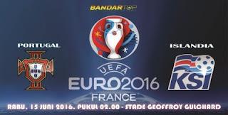 prediksi pertandingan portugal vs islandia piala eropa 2016