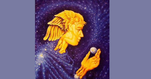 То, что вы видите на данном изображении, содержит в себе послание от ангелов