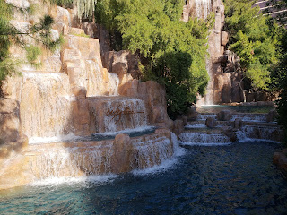 Waterfalls at Wynn Hotel Las Vegas Nevada