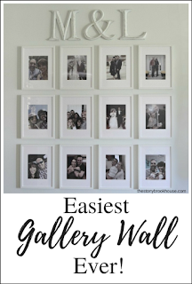 Easiest Gallery Wall