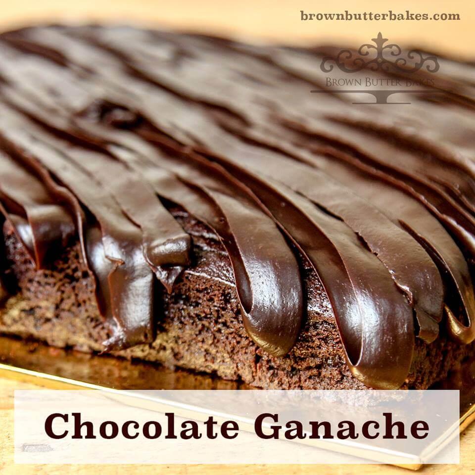 Chocolate Ganache Frosting sedap