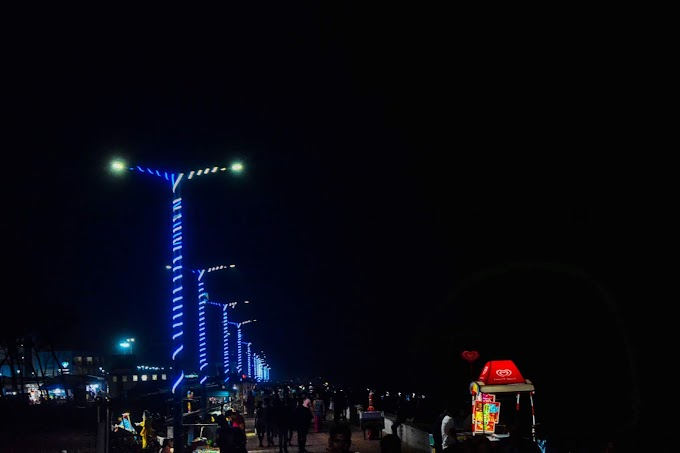 Digha Beach Beauty of The Night