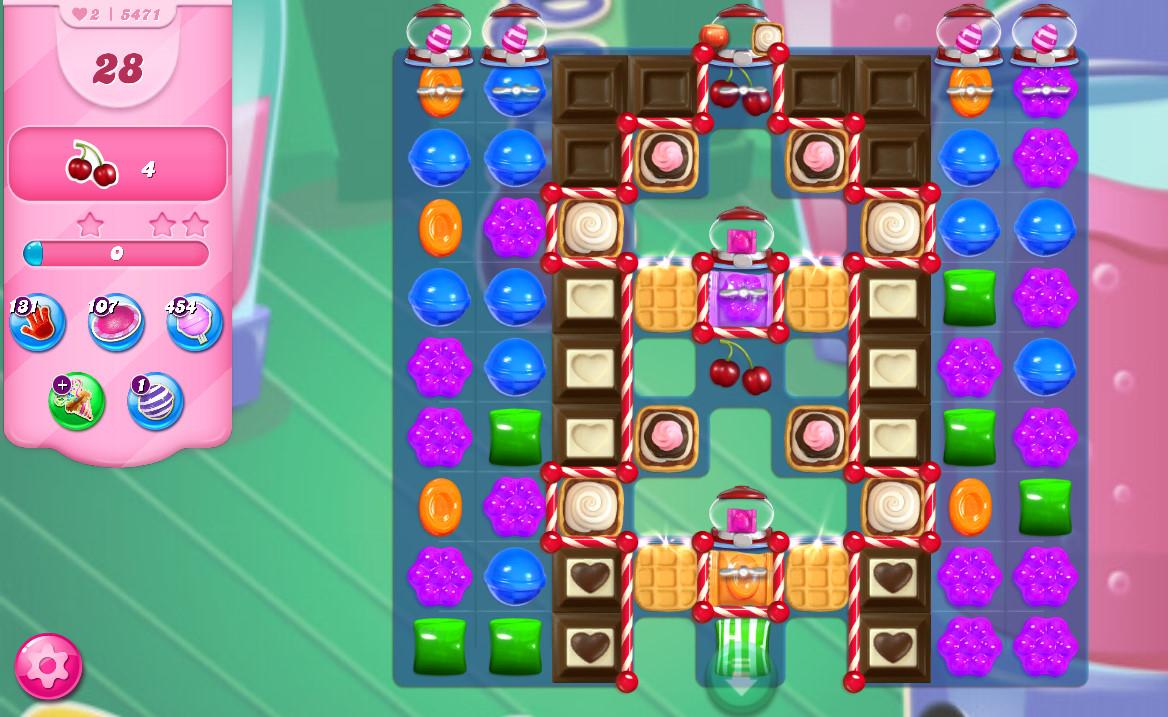 Candy Crush Saga level 5471