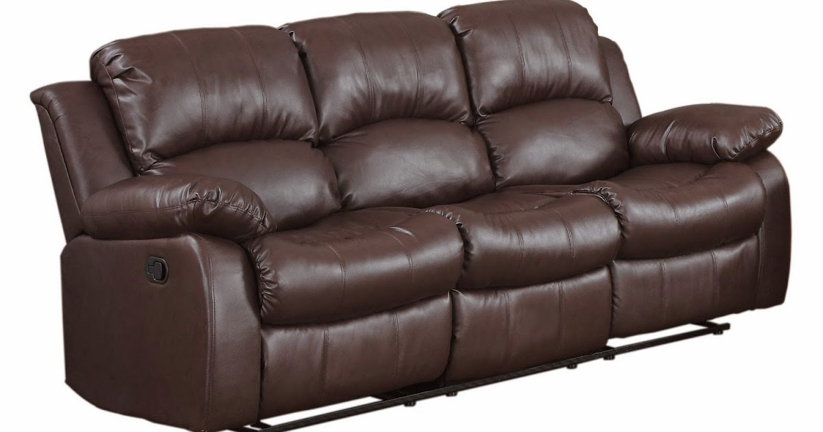 The Best Reclining Leather Sofa Reviews: Leather Recliner ...