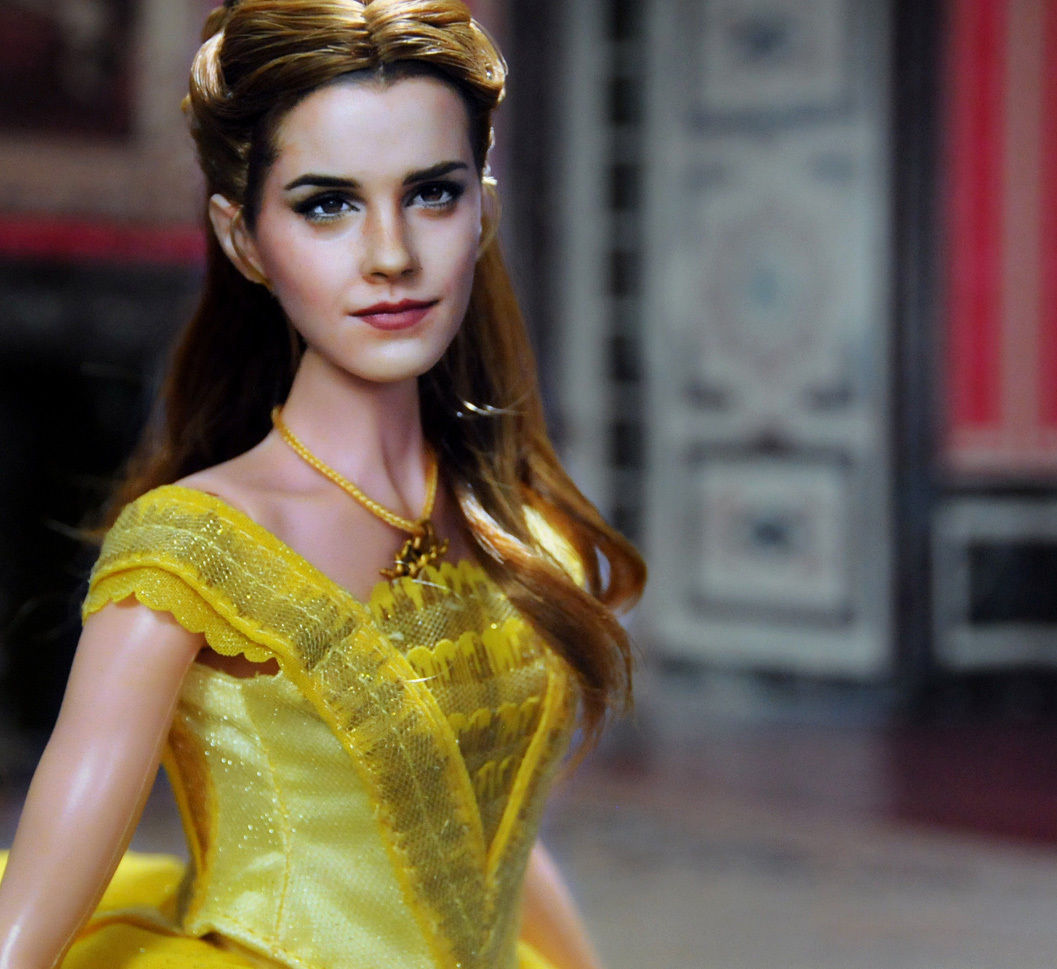 A One Of Kind Repainted And Restyled Belle Emma Watson In The Upcoming Film Beauty Beast Is On EBay At Ebay Usr Ncruz Doll Art
