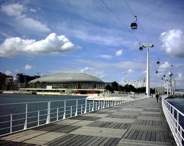 Parque das Nações em Lisboa