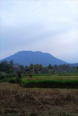 Update the volcano in Bali: 2017-12-04