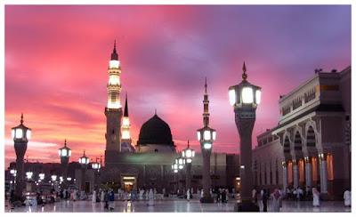 Masjid suci Nabawi Madinah