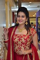 Jenny Honey in Stunning Dark Red Anarkali Dress at Splurge   Divalicious curtain raiser ~ Exclusive Celebrities Galleries 093.JPG