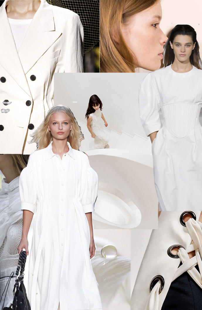 White spring trends & outfit idea / details at Celine, Sonia Rykiel, Chloe & Dries van Noten / www.fashionedbylove.co.uk British fashion blog