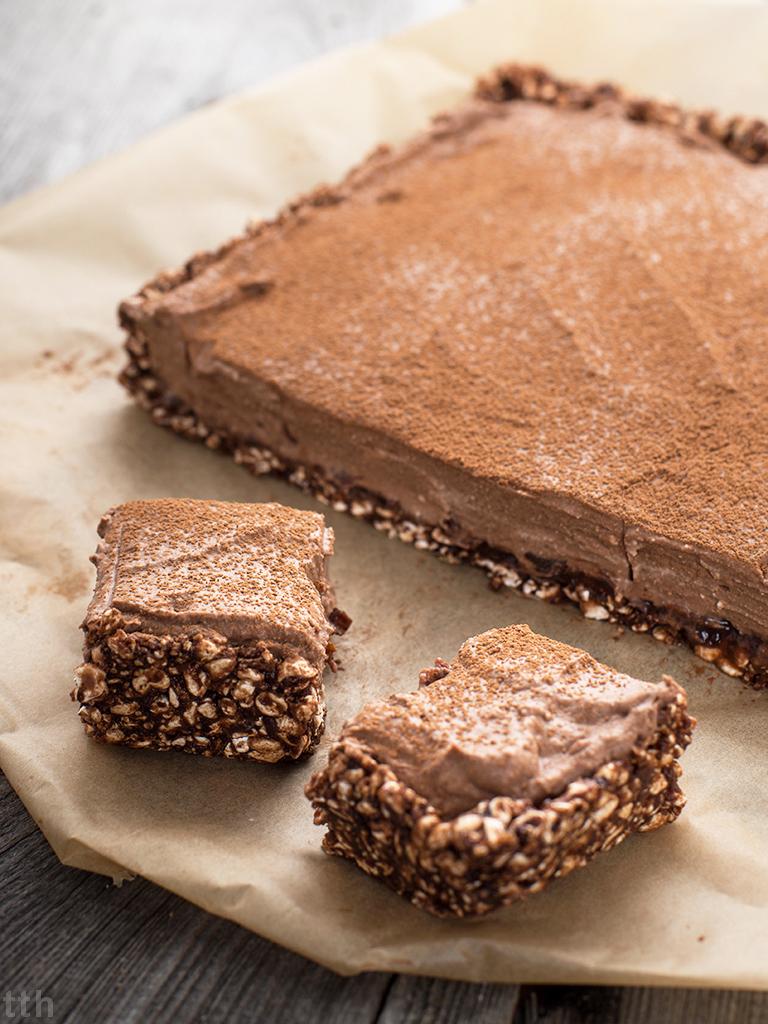 Czekoladowe ciasto bez pieczenia - przepis weganskie, bezglutenowe, bez cukru roślinna kuchnia