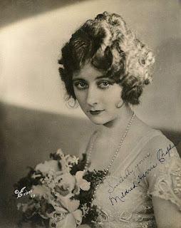 Первая жена Чарли Чаплина Милдред Харрис, ок. 1920 г.