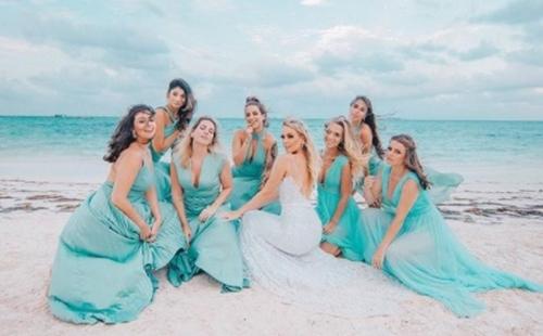vestido madrinha casamento na praia