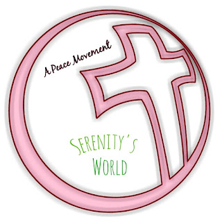 A Peace Movement icon. With #aPeaceMovement and #SerenitysWorld.