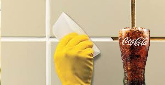 Truques de Limpeza com Coca-Cola - Limpeza de rejuntes de azulejos e pisos