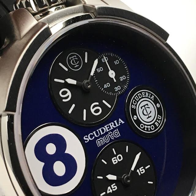 大阪 梅田 ハービスプラザ WATCH 腕時計 ウォッチ ベルト 直営 公式 CT SCUDERIA CTスクーデリア Cafe Racer カフェレーサー Triumph トライアンフ Norton ノートン フェラーリ muta  ムータ CS40307LE 2TEMPI デュエテンピ
