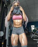 Female bodybuilding Amazing transformation