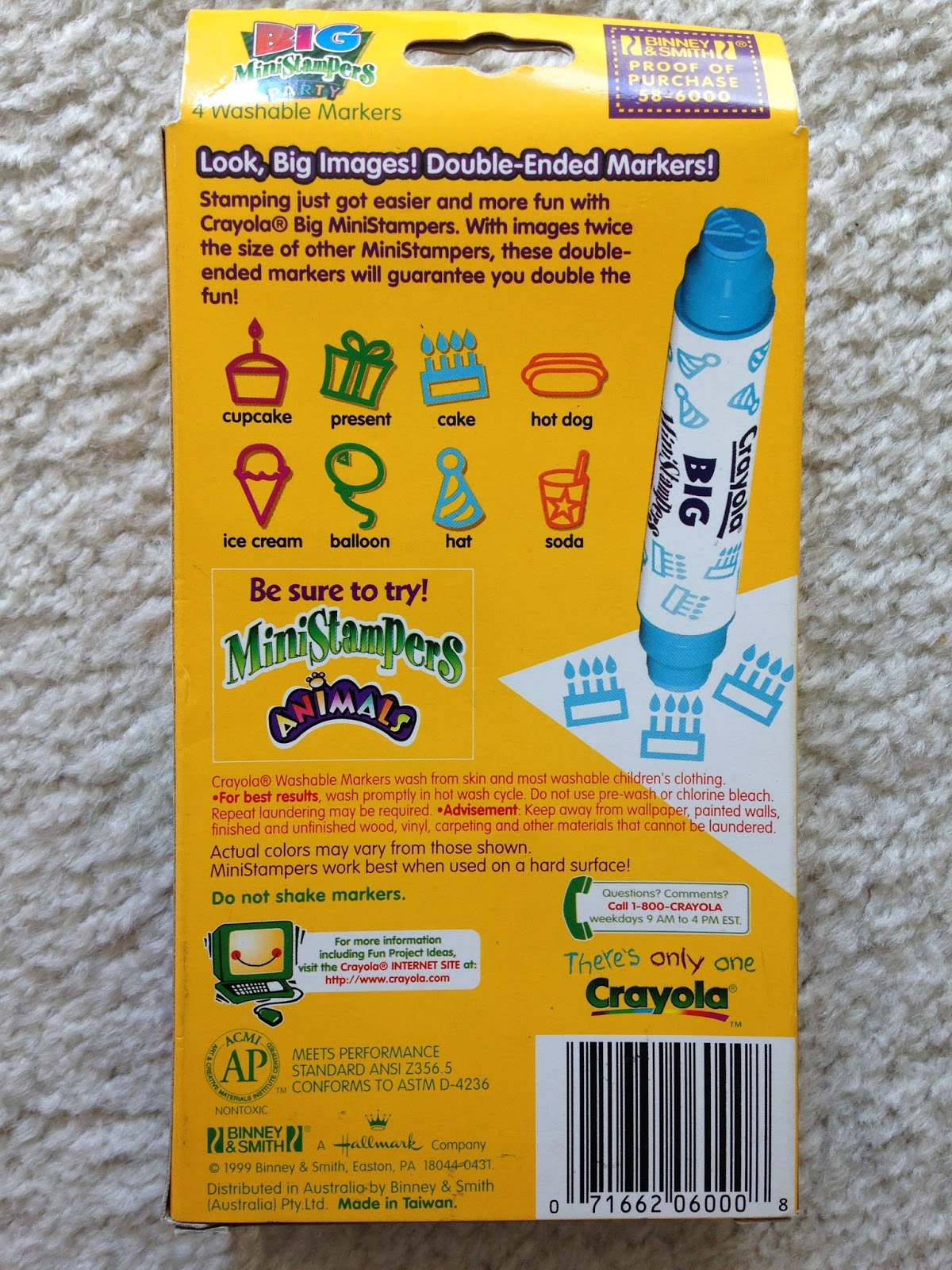 Crayola Stampers Markers What S Inside The Box And