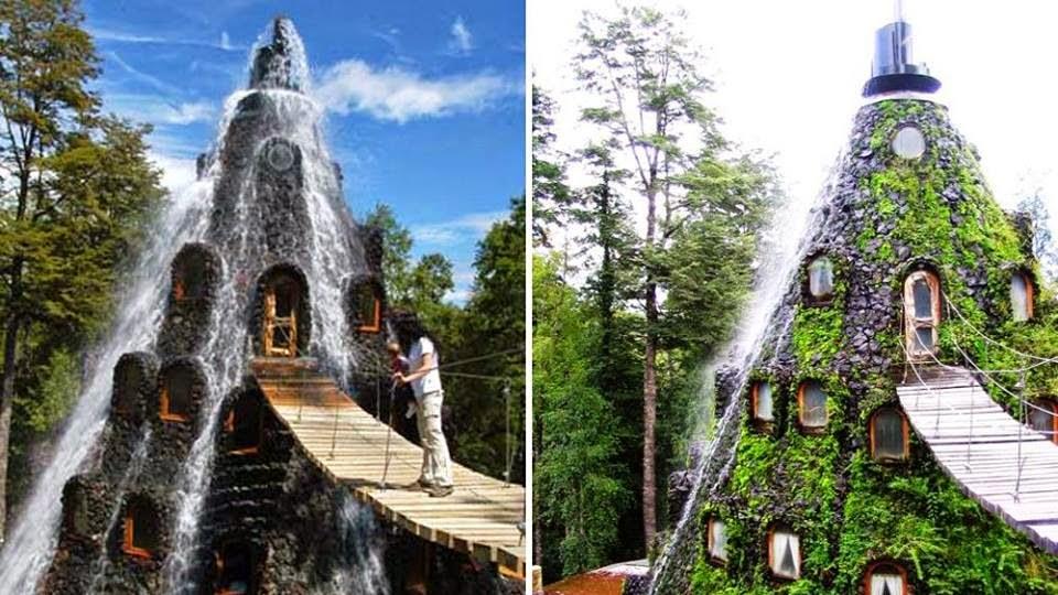 Resultado de imagen para Montaña Mágica Lodge, en Chile