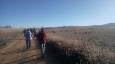 Camino de Cervantes hasta Serracines con el grupo de senderismo escapadillas.com
