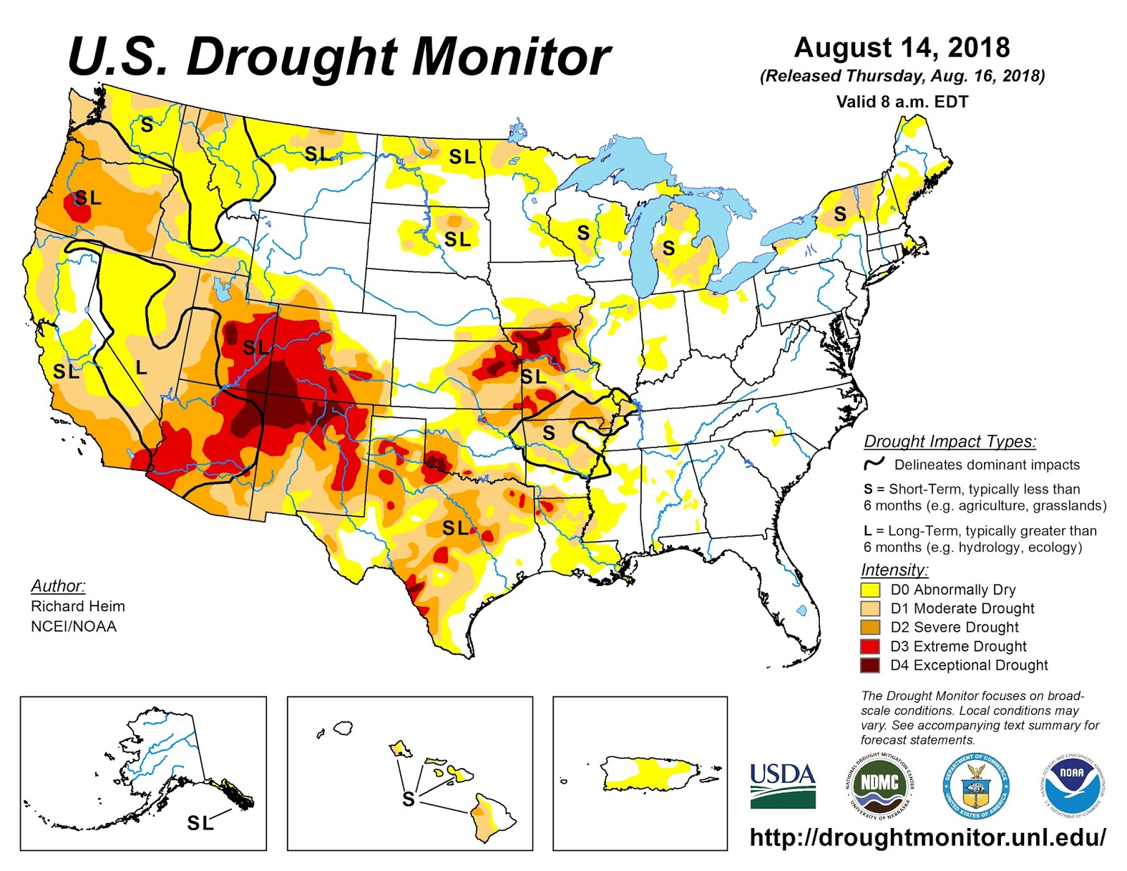 drought is starting to look serious this is the first time i ve seen extreme drought pop up in oregon this year in salem there s been no recordable